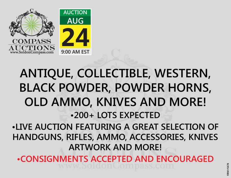 Antique, Collectible, Western, Black Powder, Powder Horns, Old Ammo